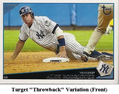 2009 Topps Baseball Card Retail Variation Guide 2