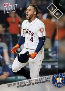 2017 Topps Now Baseball Cards 108