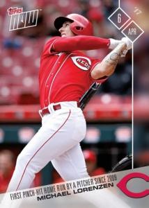 2017 Topps Now Baseball Cards 104