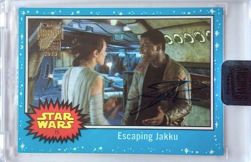 2018 Topps Star Wars Archives Signature Series Trading Cards 26