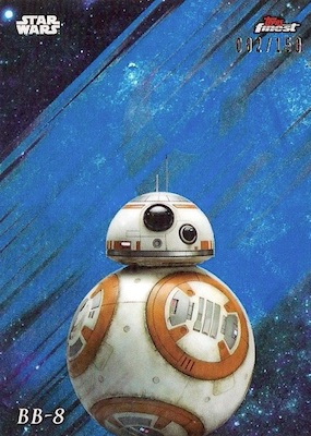 2018 Topps Finest Star Wars Trading Cards 3