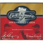 2006 Topps Co-Signers Baseball Hobby